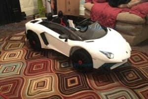 Best Choice Products Kids 12V Ride On Lamborghini Aventador SV Sports Car Toy w/ Parent Control White