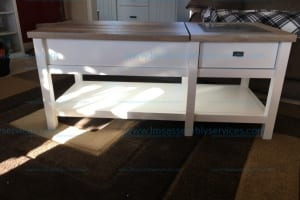 Sauders Cottage Road Lift Top Coffee Table Soft White Model# 421463