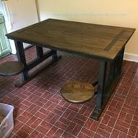 Galvin Cafeteria Table by World Market Model #473823
