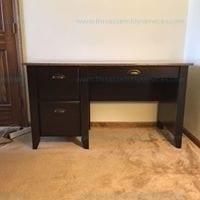 Sauders Samber desk Granite Jamacha Wood Model # 415515
