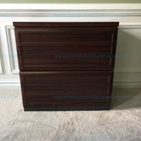 Ameriwood Home Pursuit 2 Drawer Lateral File Cabinet Cherry Model # 9522196