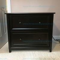 Sauders Edge Water 2 drawer lateral file black Model # 409044