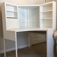 MICKE corner workstation white 502.507.13