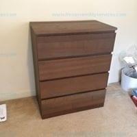 MALM 4 drawer chest ash veneer 403.604.63