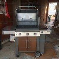 Weber genesis ll e-315 3 burner propane copper grill # 61025001