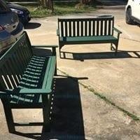 "POLYWOOD GNB60 Vinewood 60"" bench green"