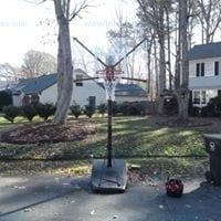 "Silverback NXT 54 "" Portable Basketball Hoop"